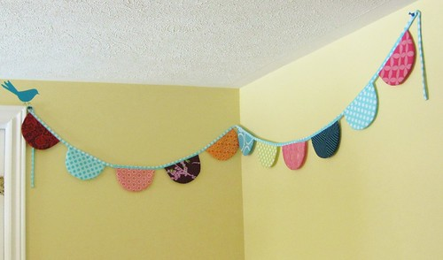 playroom bunting