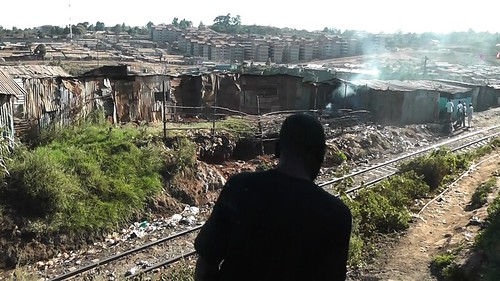 A snapshot of life in Kibera