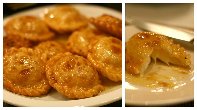 seadas - Sardinian honey cheese fritter