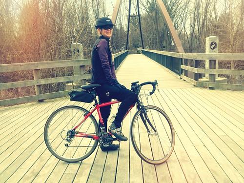 Pamela, Charles River Trail