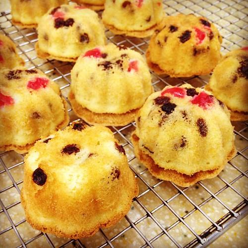 Raisin cupcakes