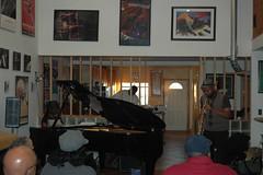 Kito Gamble, piano & Howard Wiley, sax