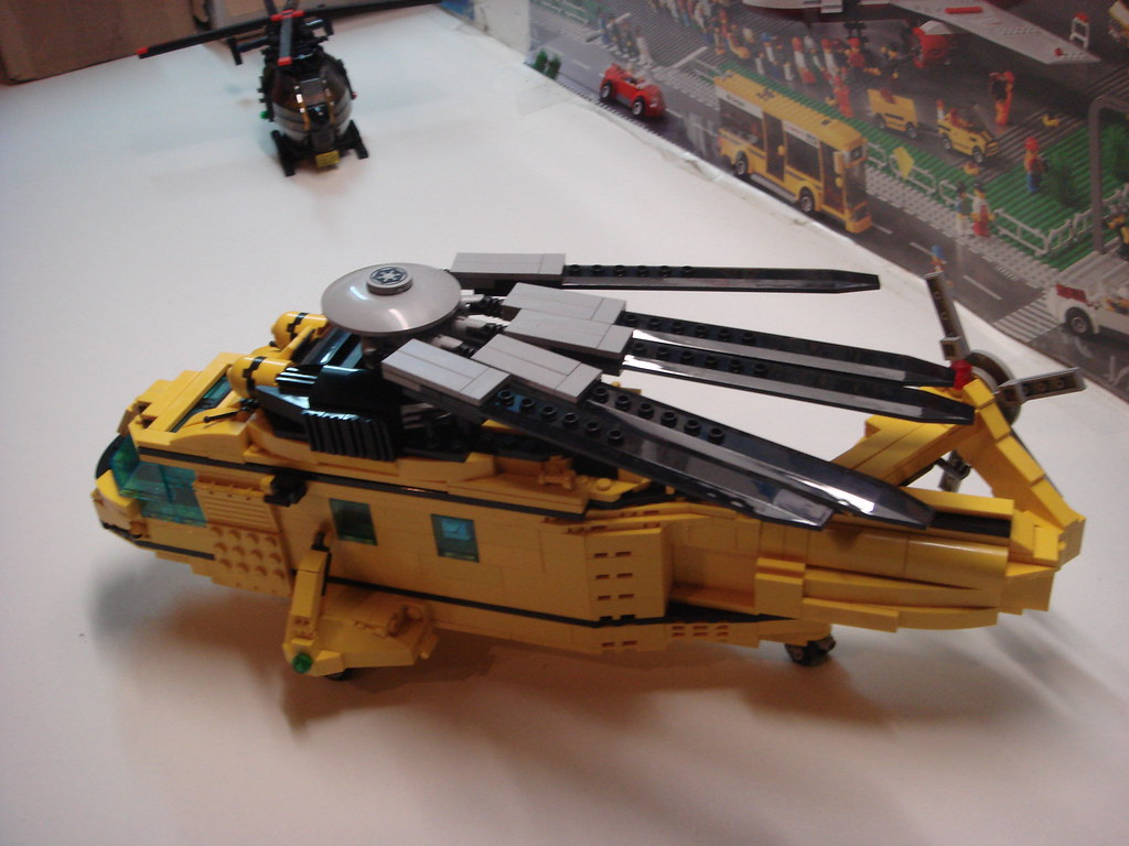 Lego Αεροπλάνα και Ελικόπτερα - Σελίδα 2 6943518433_634c60606e_b