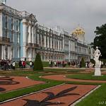 Tsarskoïe Selo - Le palais