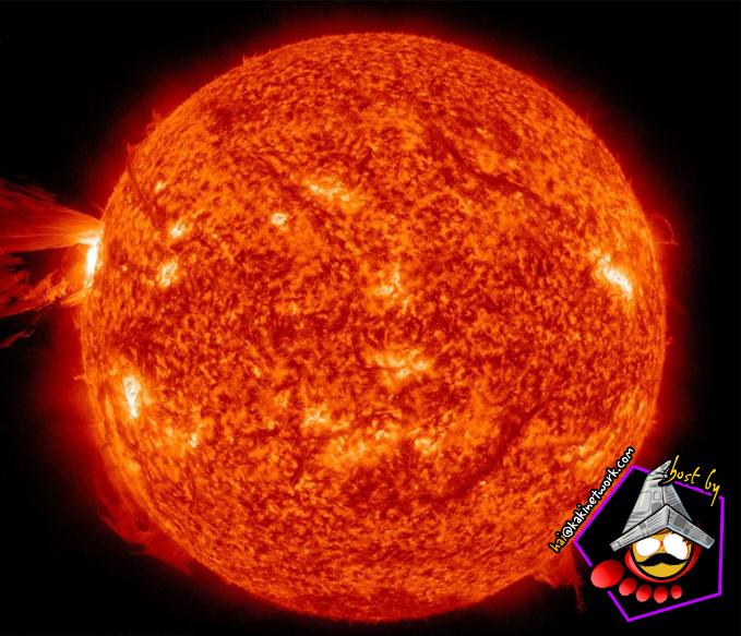 cetusan matahari