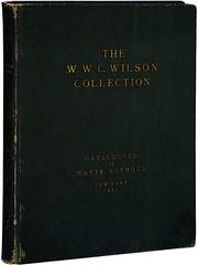 WWC Wilson catalog deluxe