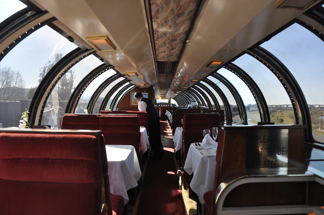 Milwaukee Road, 68 Seat Dome, 28 Seat Lounge, Super Dome 52 - Dome Interior