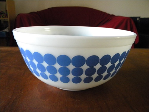Blue Dots Mixing Bowl