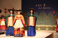 Reenactment of a royal wedding on Mar 5, 2012
