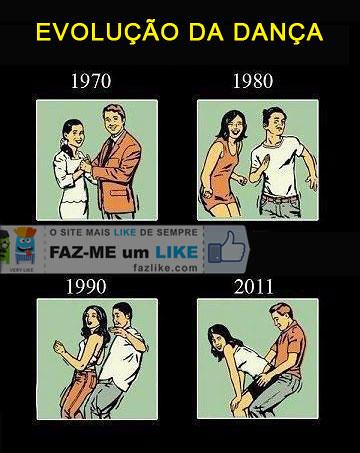 evolução da dança