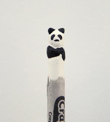 B&W Panda!