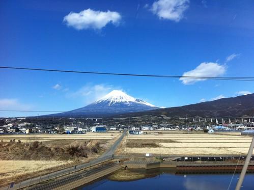 shinkansen 富士山 mtfuji