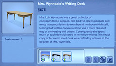 Mrs. Wynndale's Writing Desk