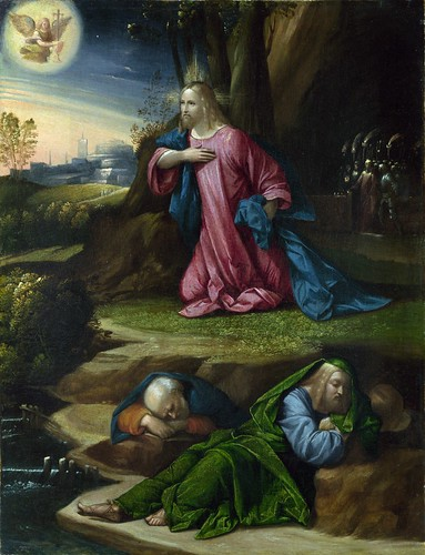 Garofalo - The Agony in the Garden [c.1520-39] by Gandalf's Gallery