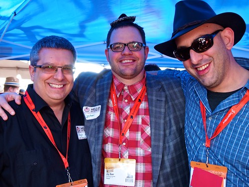 Augie Ray, Jay Baer and Geoff Livingston (Me)