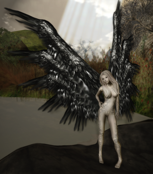 Fantasy Faire 2012 - Fallen Gods Inc - Feather Dove PETITE