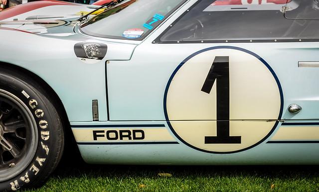 Car #1 - Ford GT40