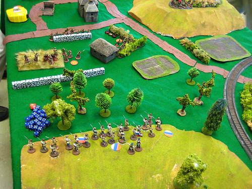 Cossacks advance