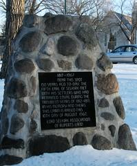 Selkirk Settlers monument