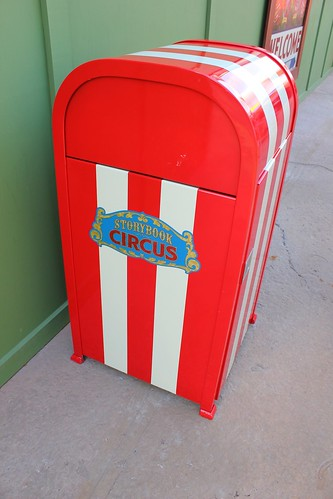 Trash Can - Storybook Circus