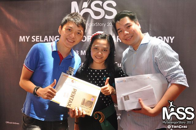 My Selangor Story 2011 Winner Announcement @ Thai Express | TianChad.com