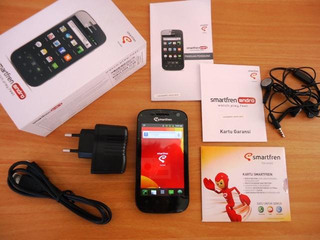 Paket pembelian Smartfren Andro