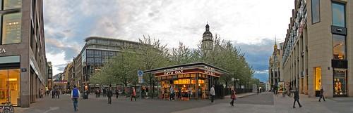 Panorama Leipzig City