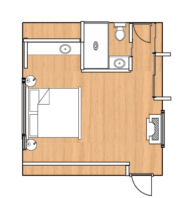 Current Master Bedroom Layout