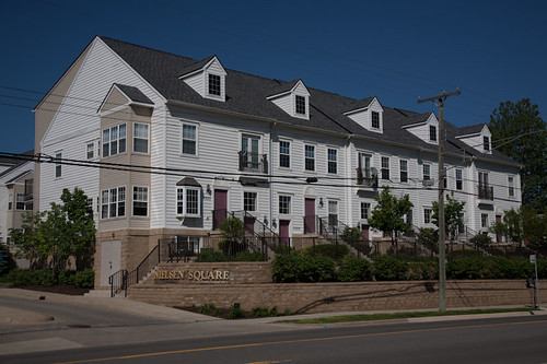 Nielsen Square condominiums Ann Arbor by Andypiper
