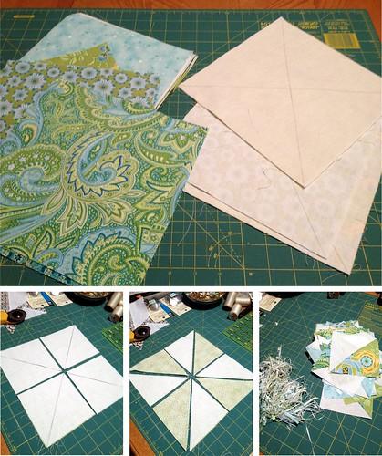 A mini quilt...