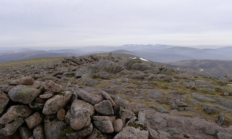 Looking north from the summit of Beinn Dearg