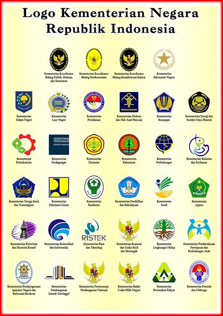 34 Logo Kementerian Negera Republik Indonesia