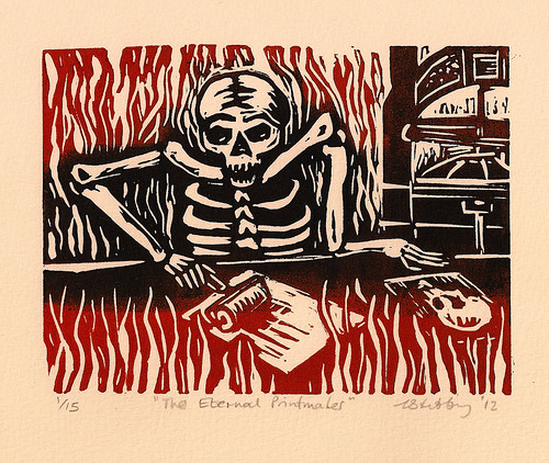 The Eternal Printmaker. Louise Stebbing