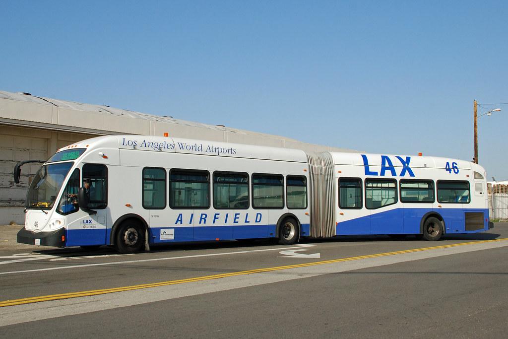 LAX Airfield Bus