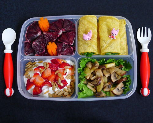 4-Section Variety Bento by sherimiya ♥