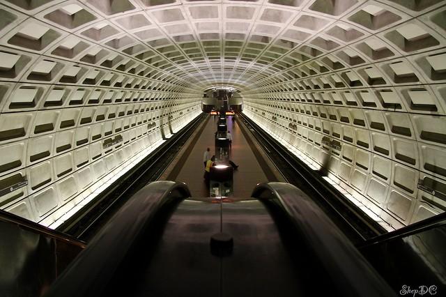 Navy Yard Metro Station