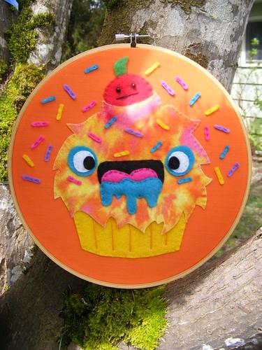 L's Cupcake Monster