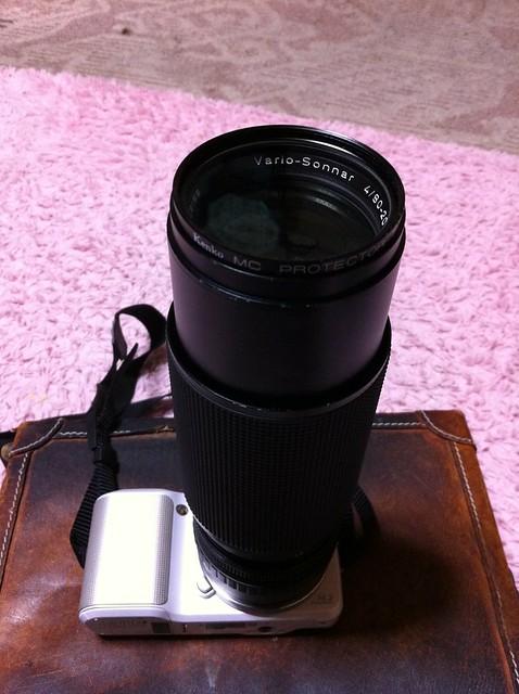 逝く玉、クル玉、2012年を振り返る4 CONTAX Vario-Sonnar 80mm-200mm F4