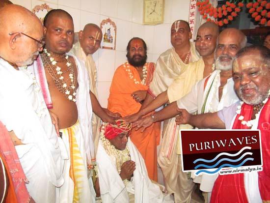 Coronation ( Shatika Bandhan Utsav ) Festival of Sri Babaji Radheshyam Dashjee