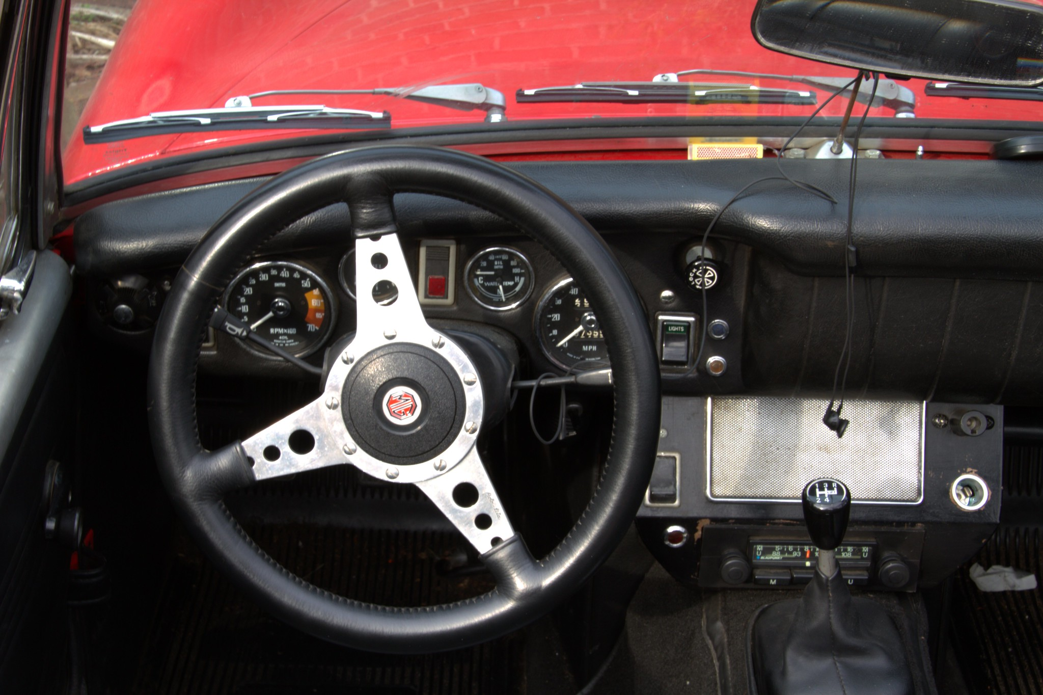 1971 MG Midget MkIII (dashboard)