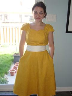 Colette Crepe Dress