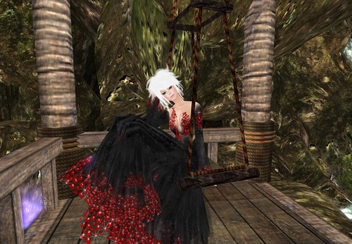 **TWA** Blood Ruby Gown Groupgift Set by Cherokeeh Asteria