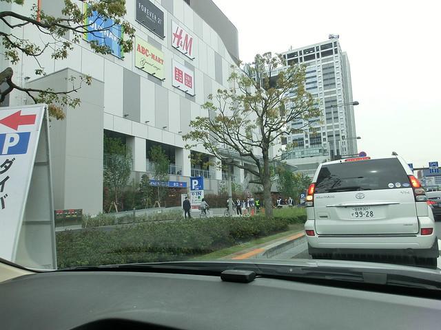 駐車場/ダイバーシティ東京プラザ