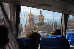 Eglise orthodoxe sur la route entre Vladykino et Altufievo