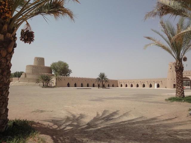 Forte de Al Jahli em Al Ain, Abu Dhabi, Emirados Arabes Unidos