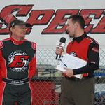 Barney Craig with Dustin Jarrett