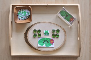 Addition Lily Pad Math