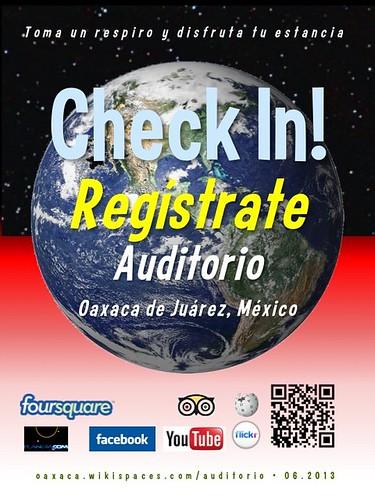 Auditorio Check In! Regístrate Oaxaca 06.2013