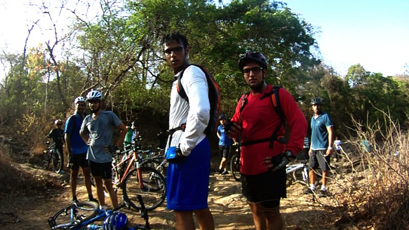 Yeoor Hills Offroad - Taking a break
