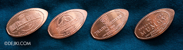 Universal Studios Singapore Press A Penny collection - Hollywood